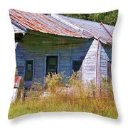 Unleaded Throw Pillow