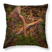 Unlikely Pair Throw Pillow