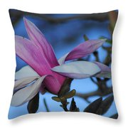Unpealed Throw Pillow