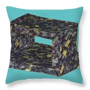 Unreal Object Throw Pillow