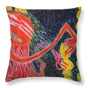 Unsatiated - Cropped Throw Pillow