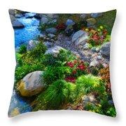 Unseasonable Beauty Throw Pillow