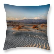 Unspoken Throw Pillow