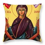 Unspoken Mary Throw Pillow