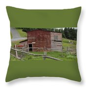 Unstable Lodgings Throw Pillow