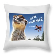 Unstoppable Throw Pillow