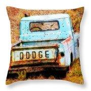 Unsuccessful Dodge Throw Pillow
