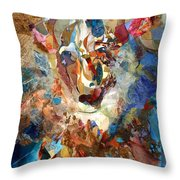 Unsullied Throw Pillow