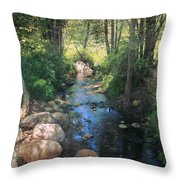 Until I Loved You Throw Pillow