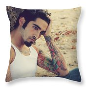 Until It's Gone Throw Pillow