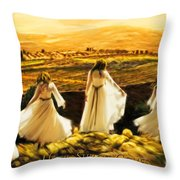 Until Shiloh Comes Throw Pillow