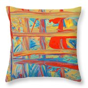 Until The Philosophy Throw Pillow