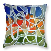 Untitled #18 Throw Pillow
