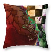 Untitled 2014 No 2 Throw Pillow