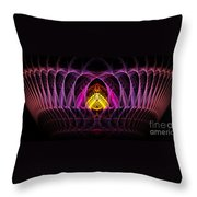 Untitled 396 Throw Pillow