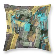 Untitled 457 Throw Pillow