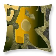 Untitled 514 Throw Pillow