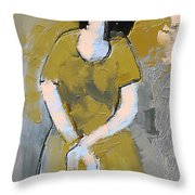 Untitled 556 Throw Pillow