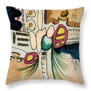 Untitled 940410 Throw Pillow