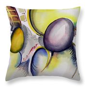 Untitled-960115 Throw Pillow