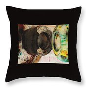 Untitled Abstract No.3 Throw Pillow