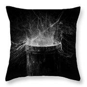 Untitled Cobweb Throw Pillow