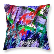 Untitled Drawing Throw Pillow