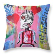 Untitled Love Throw Pillow