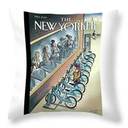 New Yorker June 3, 2013 Throw Pillow