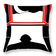 Untitled No.05 Throw Pillow