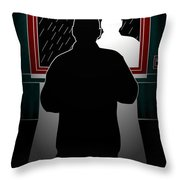 Untitled No.10 Throw Pillow by Caio Caldas