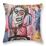 Untitled Noise Throw Pillow