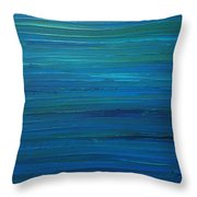Untitled Painting 4   Throw Pillow