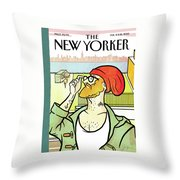 Brooklyn's Eustace Throw Pillow