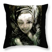 Untitled -the Seer Throw Pillow
