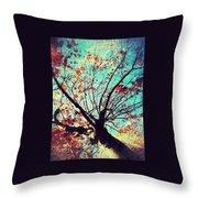 Untitled Tree Web Throw Pillow