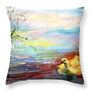 Untitled Watercolor       Throw Pillow