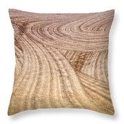 Non Level Playing Field Throw Pillow