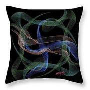 Unveiled Dream Digital Art Throw Pillow