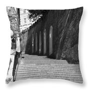 Up - To Prague Castle Throw Pillow