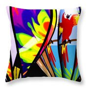 Up And Away V2 Throw Pillow