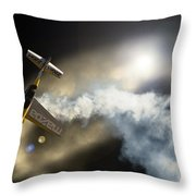 Up And Down Again Throw Pillow