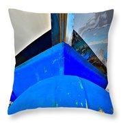 Up And Over Throw Pillow