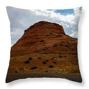 Up Around The Bend Throw Pillow