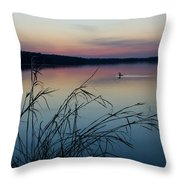 Up Before Dawn Throw Pillow