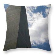 Up Bunker Hill Throw Pillow
