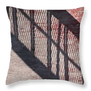 Up-down Staircase Throw Pillow