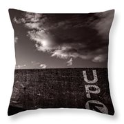 Up One Throw Pillow by Bob Orsillo