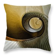 Up The Stairway Throw Pillow
