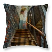 Up To Something Good Throw Pillow by Susan Candelario